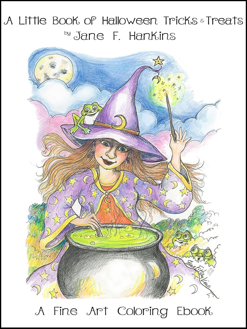 The little book of Halloween tricks & Treats by Jane F Hankins