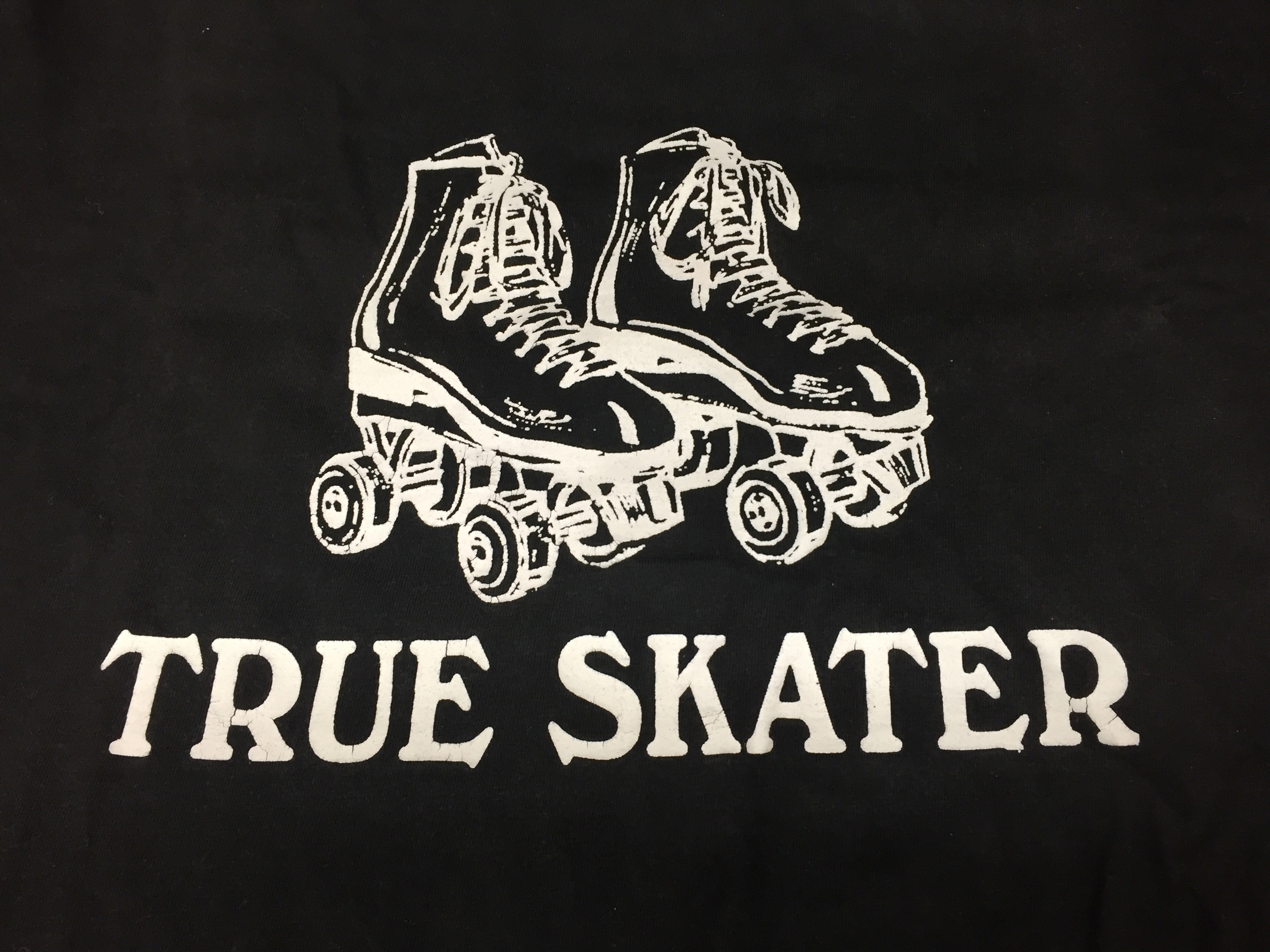 Logo design on skating uniform (mid 1980s). Donated to the Moorland-Spingarn Research Center at Howard University.