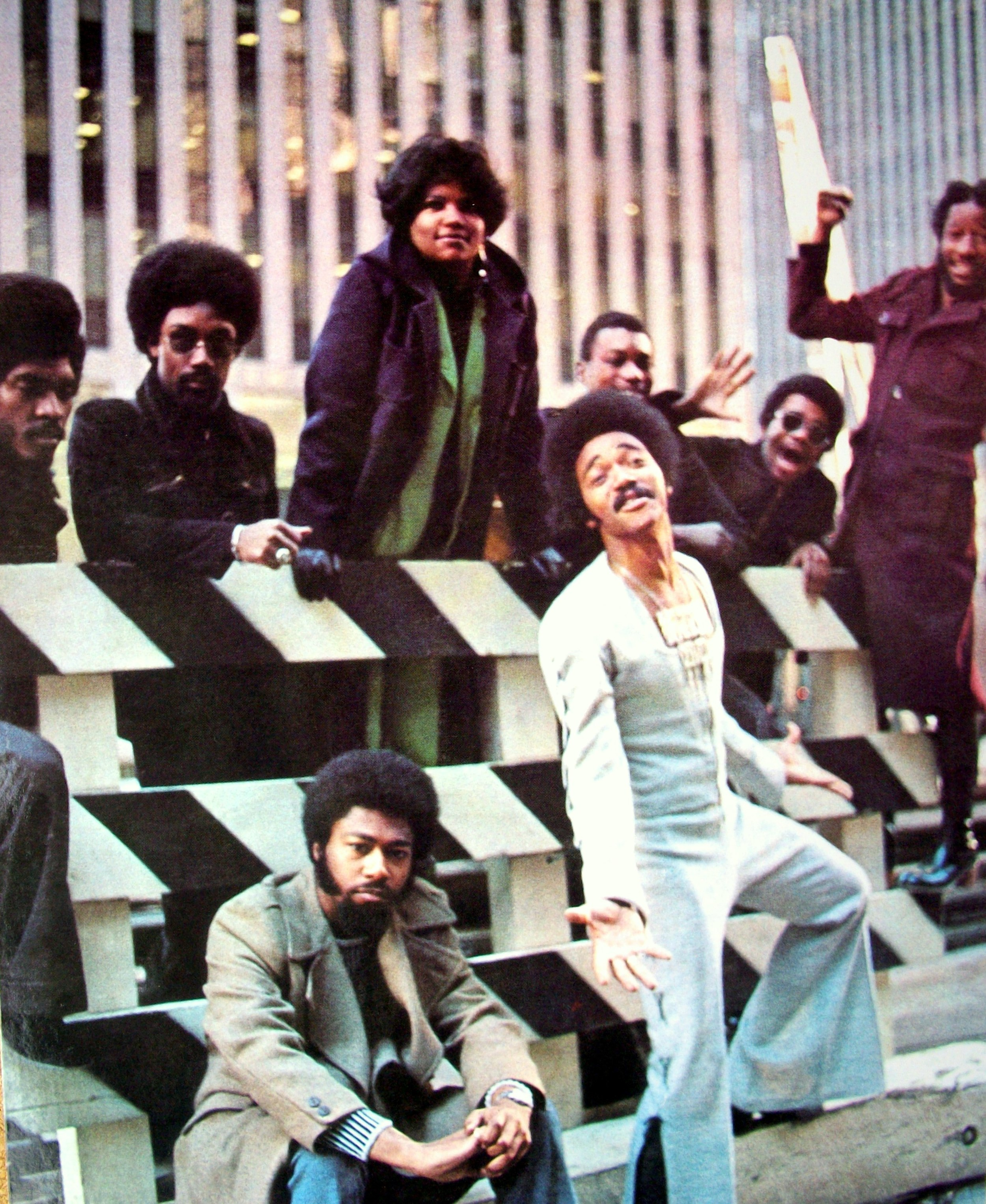 Joe Quarterman and the Free Soul was a funk band reaching fame in the early 1970s, coming straight from Washington DC.
