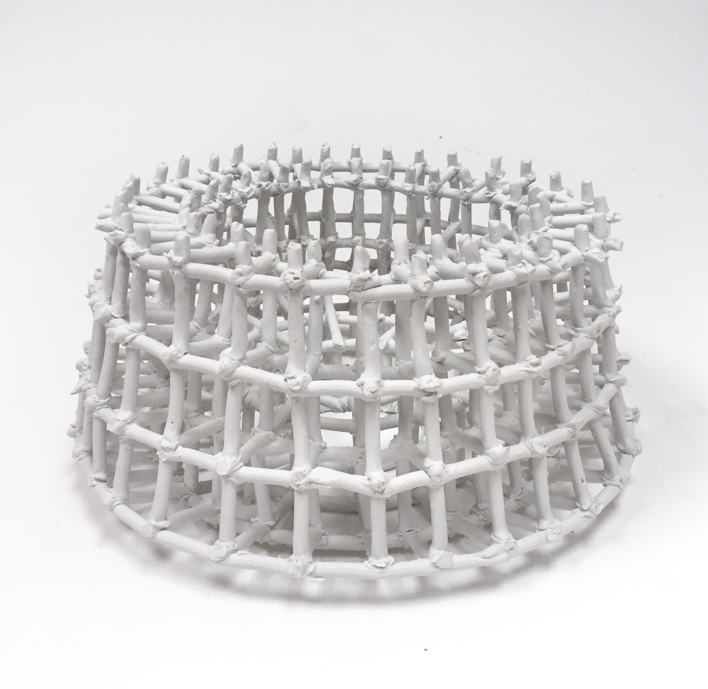 Storage Basket for Dried Sardines , 7x15x15, Porcelain, 2019