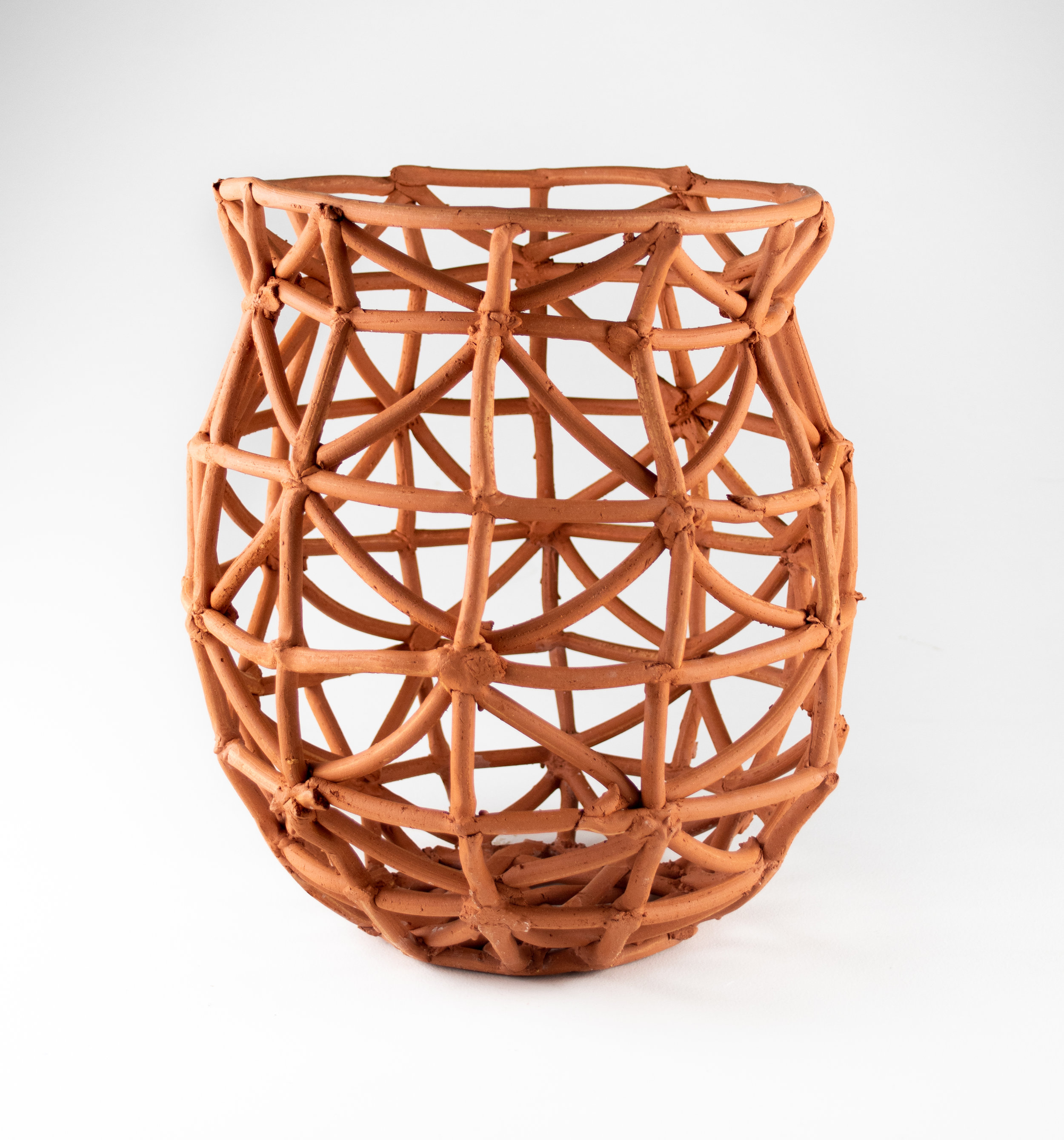 Grain Storage Basket , 13x20x13, Earthenware, 2019