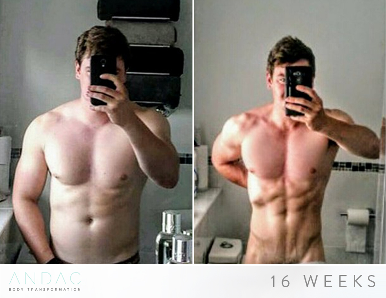"Dan - Fat Loss  - ""Joshar has been designing my plans for just over 6 months. I was initially on the 12 week fat loss plan and I was very surprised about the speed of results. I then went on to a lean bulking plan.  I have had multiple people ask me what I'm doing to lean up in such a short time frame and I have to say it comes down to Joshar'sopen minded and sustainable approach to meal planing, That was where I would attribute the 80% of my results, only 20% from training. Joshar made regular adjustments, and encouraged me to experiment  to ensure my plan continued to work for me. I think the best part of his plan was the fact it didn't feel like dieting. I hardly ever had cravings to cheat!"