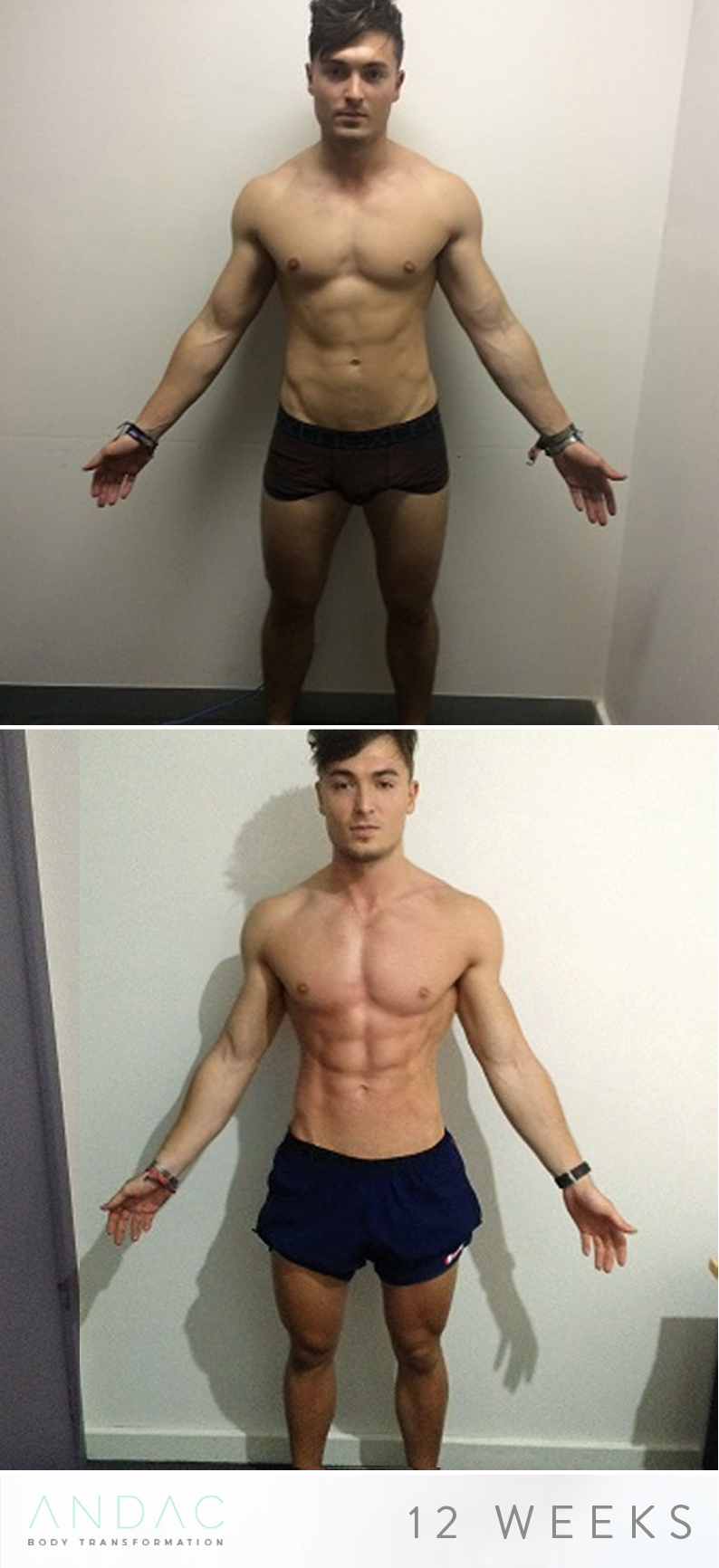 JOSHAR'S 12 WEEK TRANSFORMATION -
