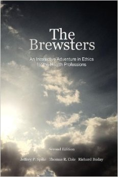 The Brewsters   (2012) is an innovative way to learn health professional ethics: a choose-your-own-adventure novel where *you* play the roles of health care provider, scientific researcher, patient and their family. Storylines branch based on choices you make as you read.