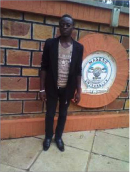 Derrick, a student at Maseno University © ANPPCAN