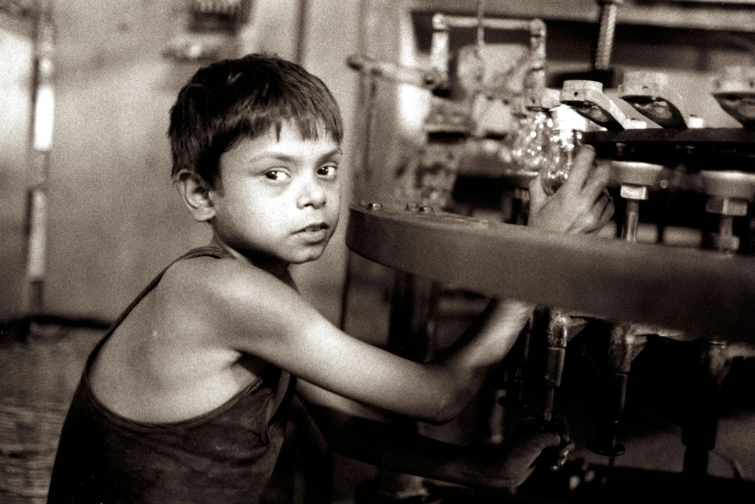 Boy Laborer