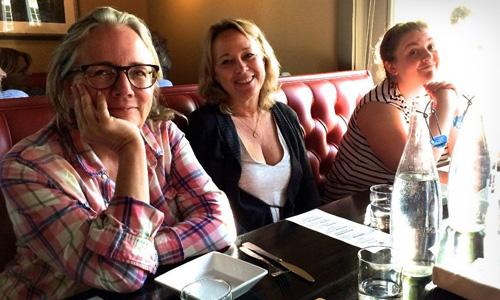 Photo: Laurel Aarsvold, Diana Richardson, Cameron Chapman