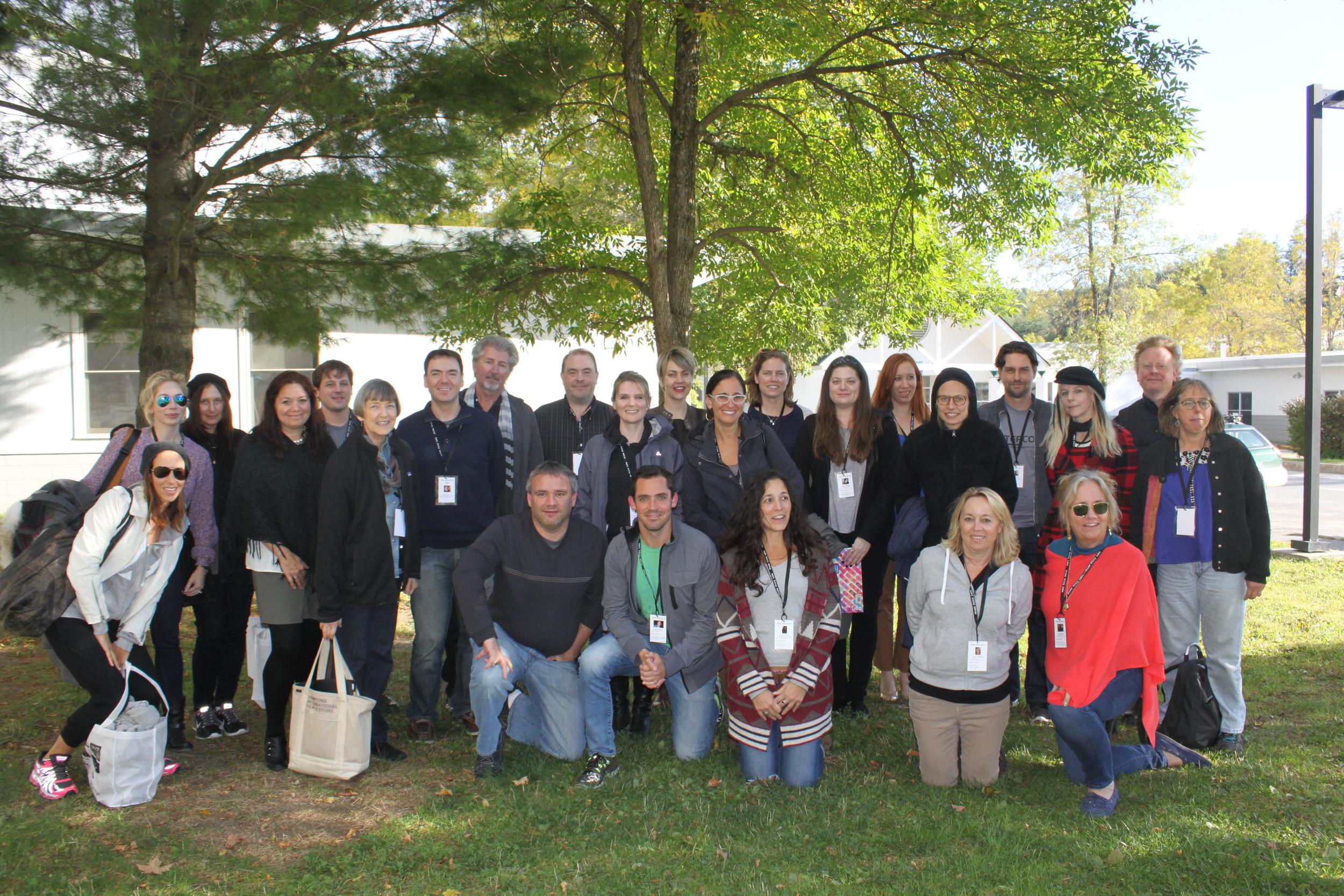 Fall 2014 Narrative Lab participants and mentors