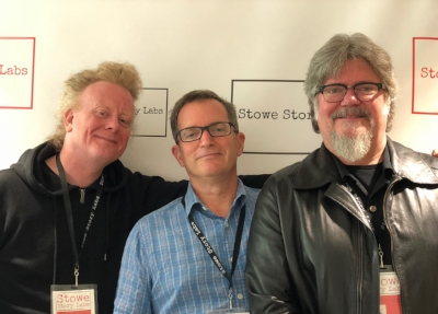 David Pope, David Rocchio and Steven Jon Whritner at Fall '18 Lab