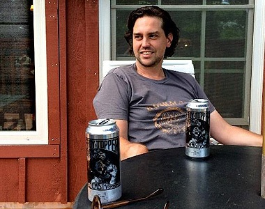 Screenwriter Paul Bissett relaxes at Stowe Story Labs' Writers' Retreat