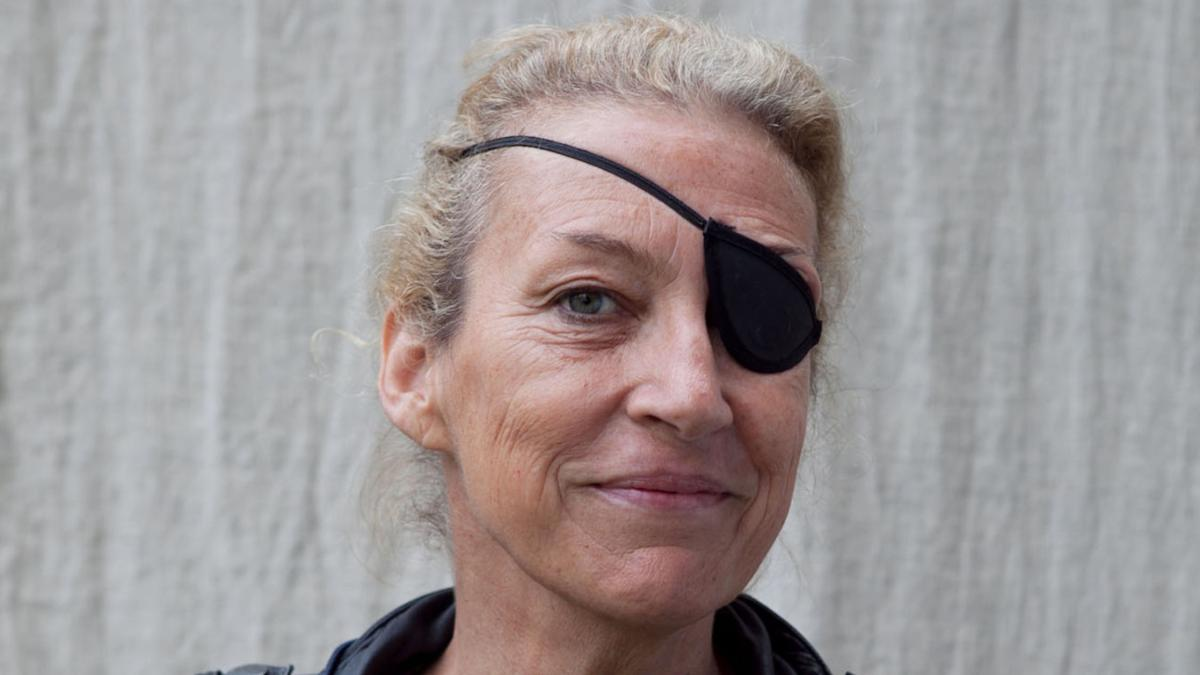 Marie Colvin, photo by DAVID PACKARD from  The Times