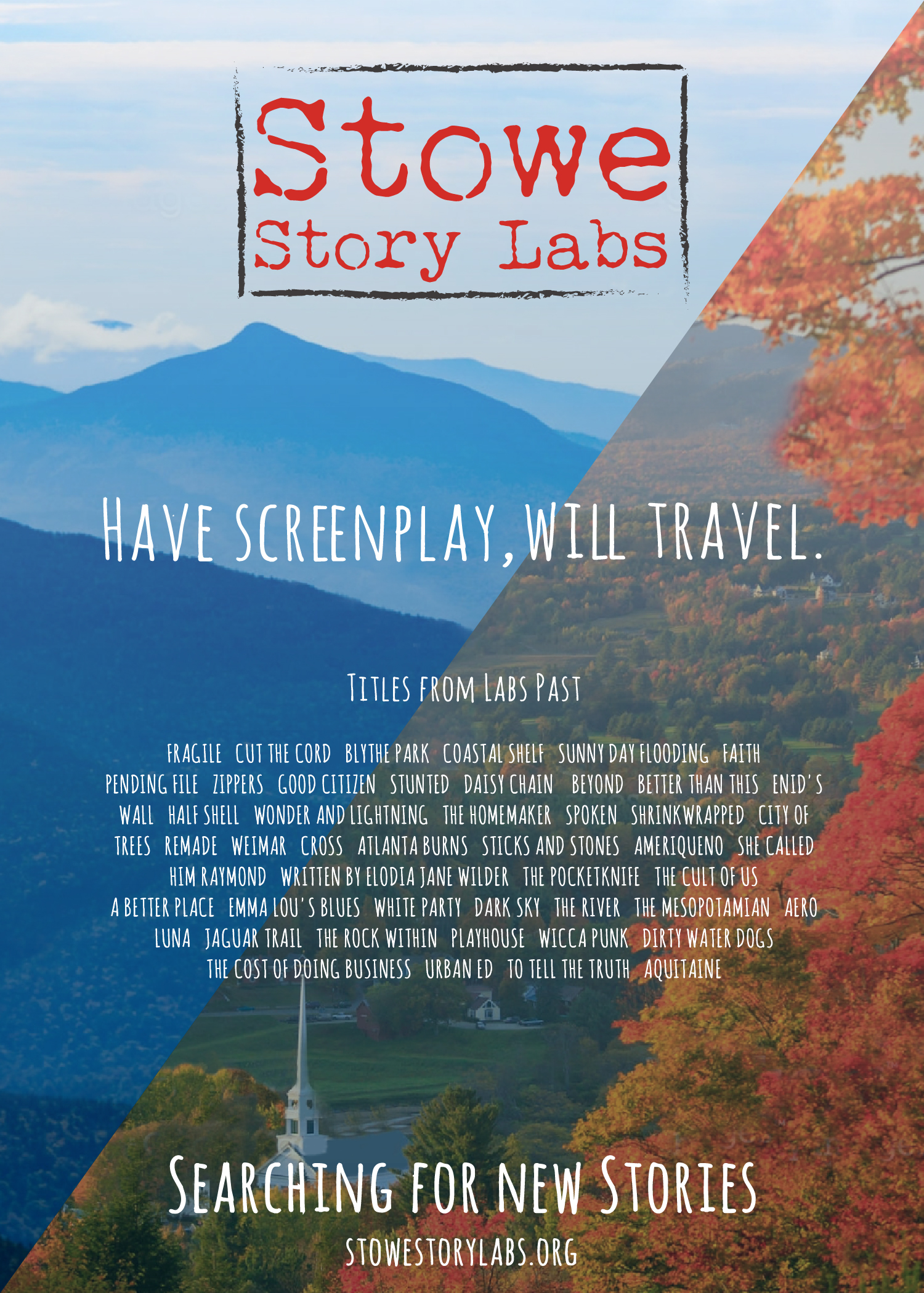 News — Stowe Story Labs