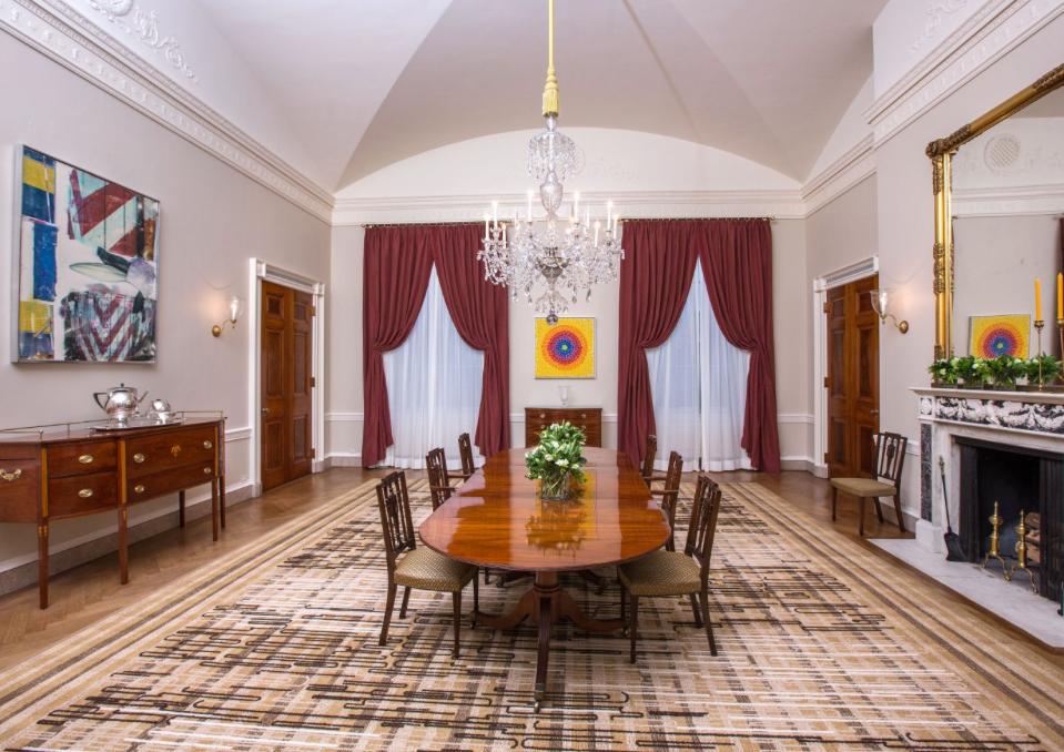 Obama Dining Room