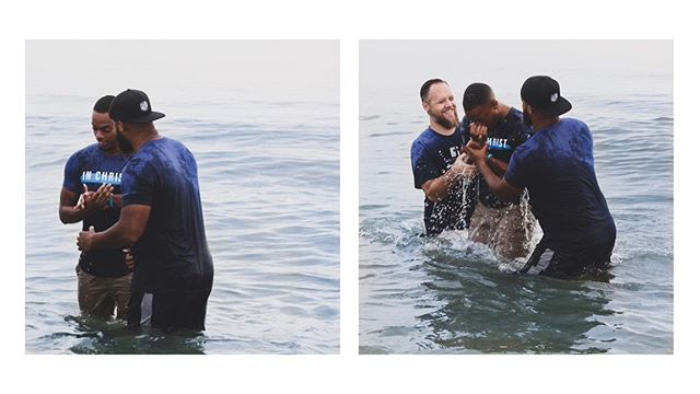 Yesterday was a joyous day as we celebrated our first baptisms as a church plant. Both of our family members who were baptized identified with Christ in his death, burial and resurrection and they've committed to following Him for the rest of their lives. We praise God for the opportunity to do this with our ID:Family and our sending church, Christ Community Church.