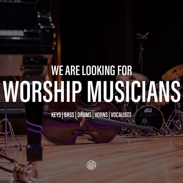 We're looking for some talented musicians that have experience in a variety of genre's to help us with our worship service. We're looking for keyboardists, bassists, drummers, horn players, and vocalists.  DM us or email us at admin@identitydaytona.org if you're interested.
