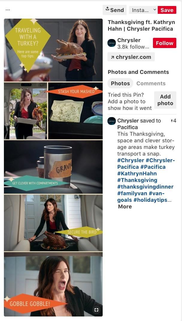 Thanksgiving on Pinterest