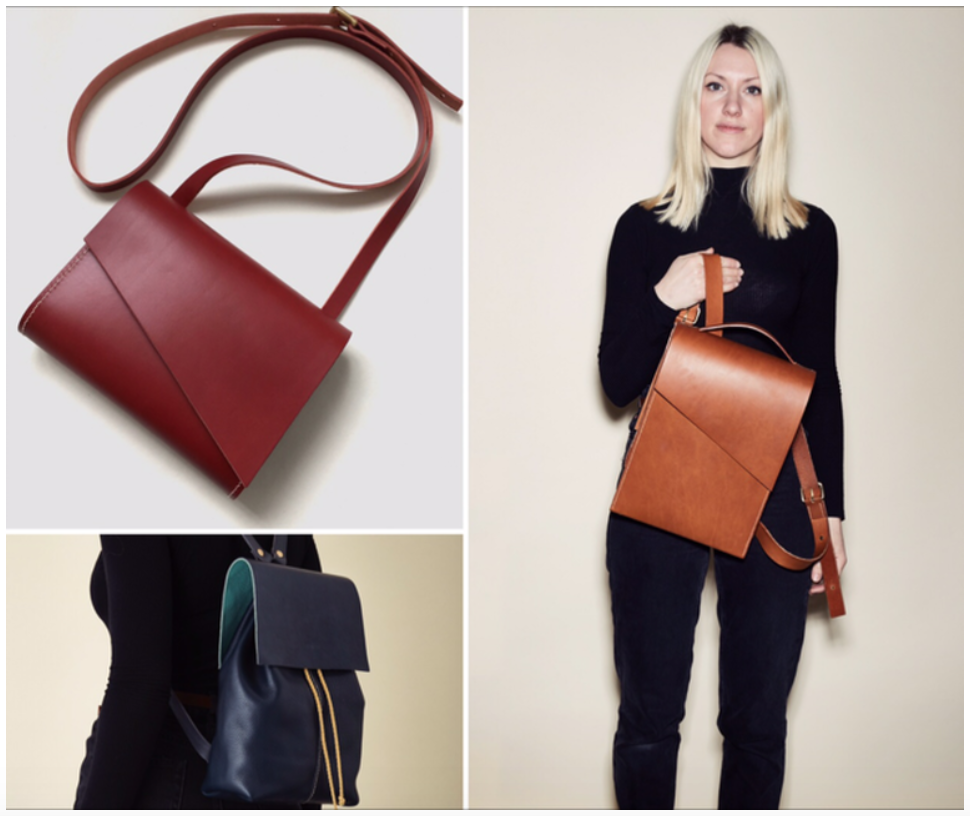 CARV handmade leather bags from London