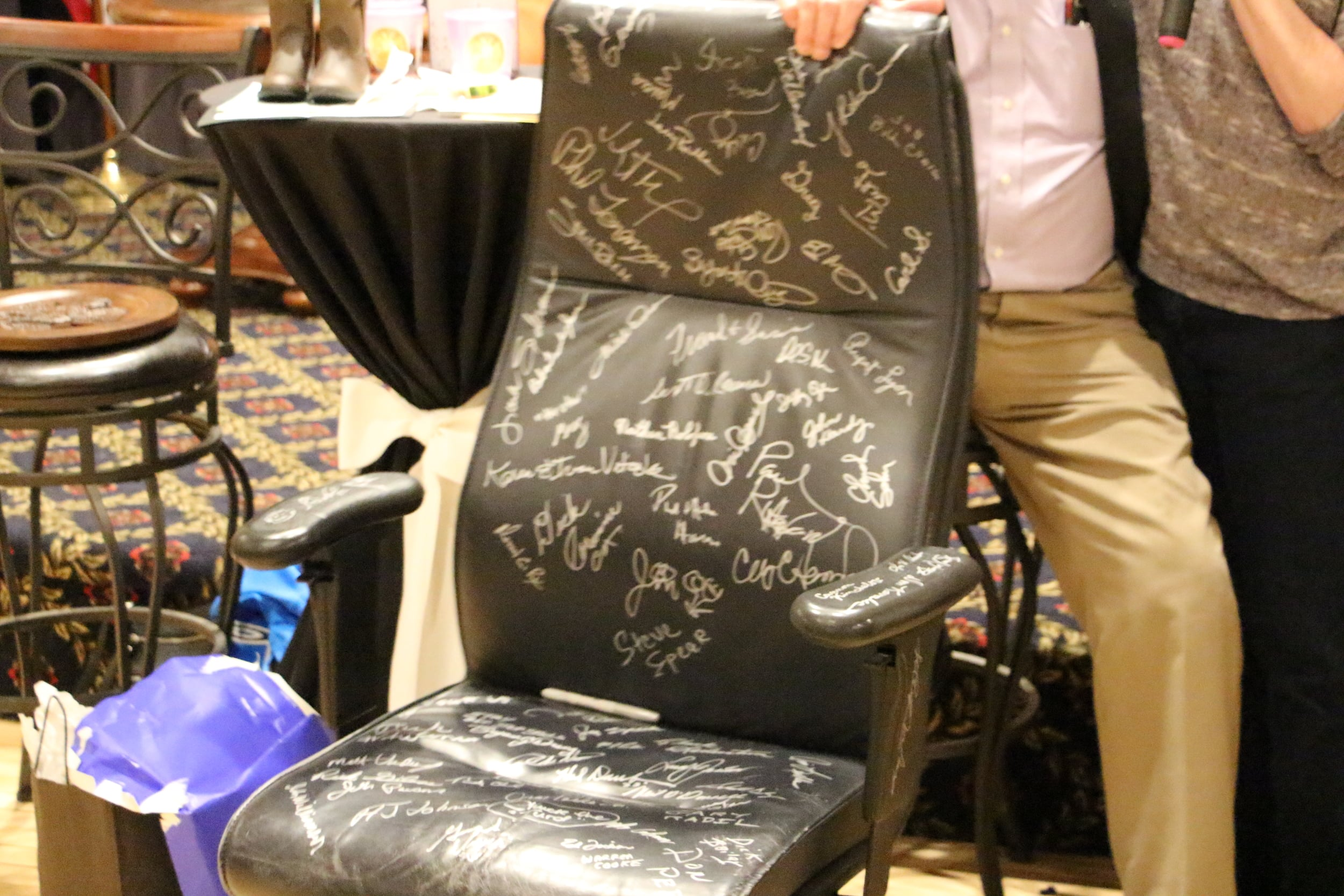 Curt's office chair