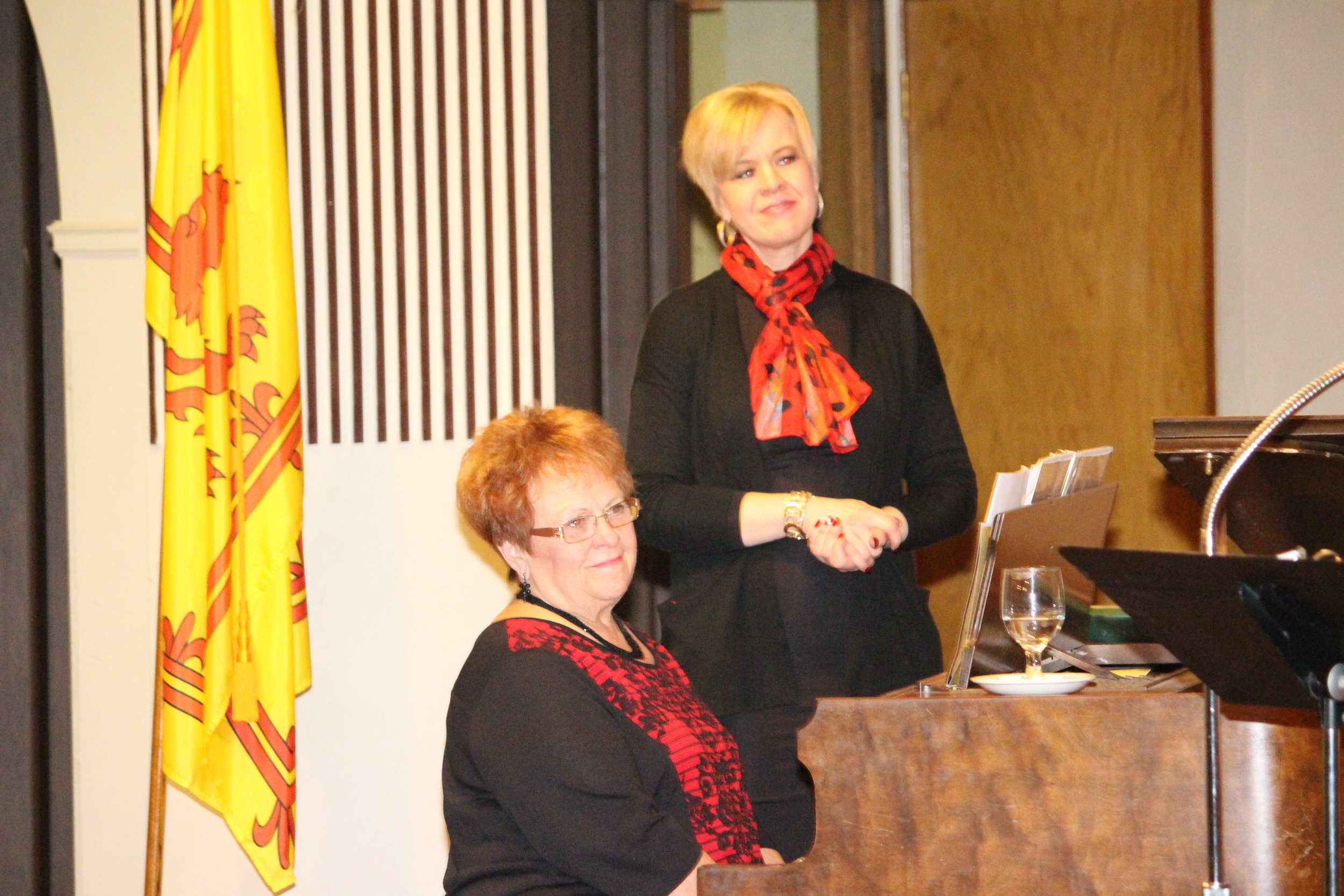 Julie Baker Anderson and Anita Elliott