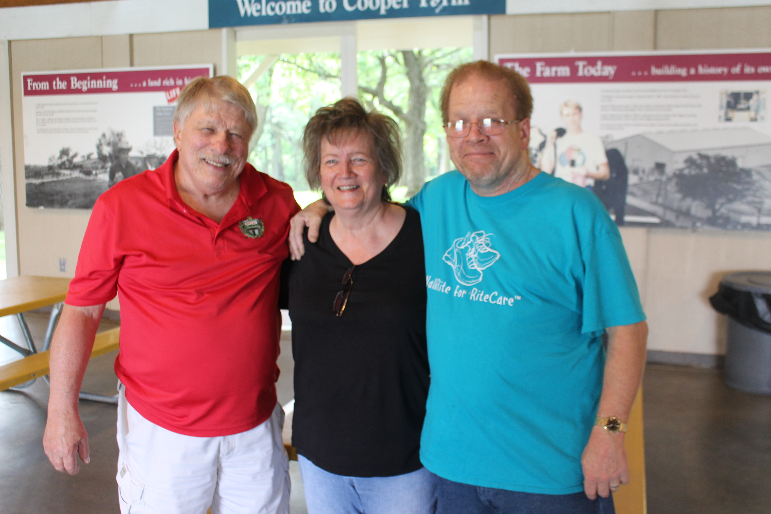 Jim, Peggy, and Scott Beard