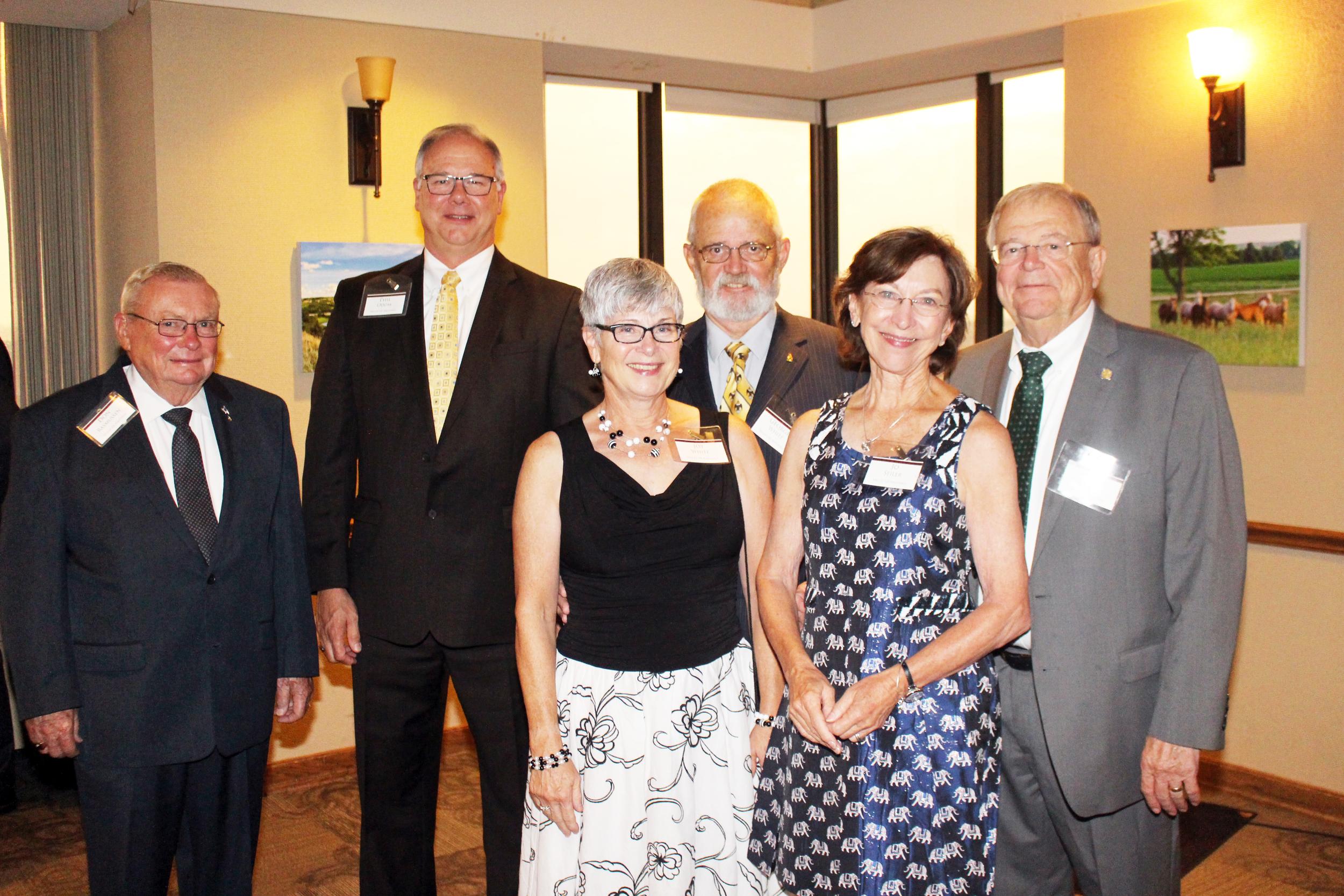 Guests from Central Nebraska Scottish Rite in Hastings