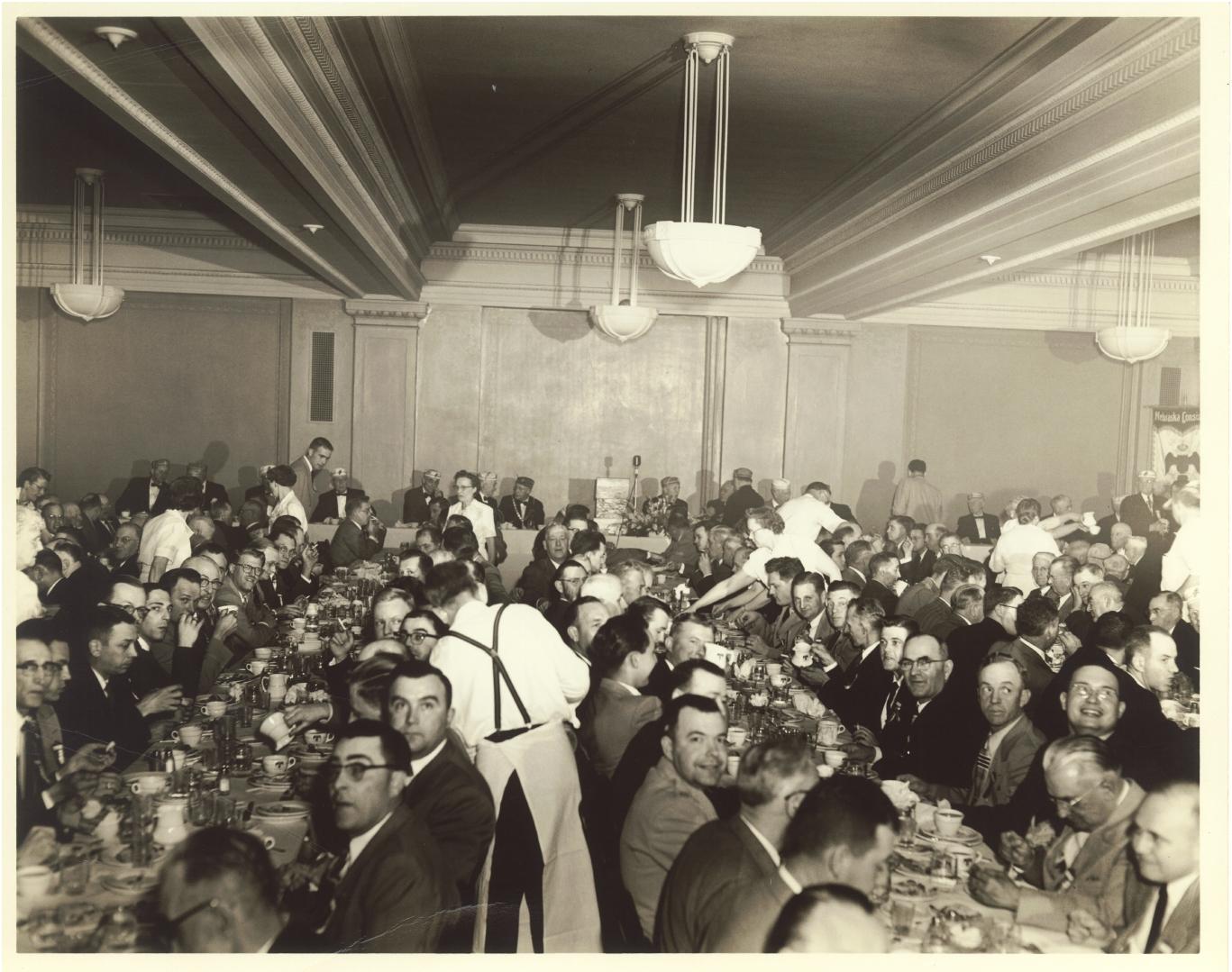 Scottish Rite banquet, c. 1960s