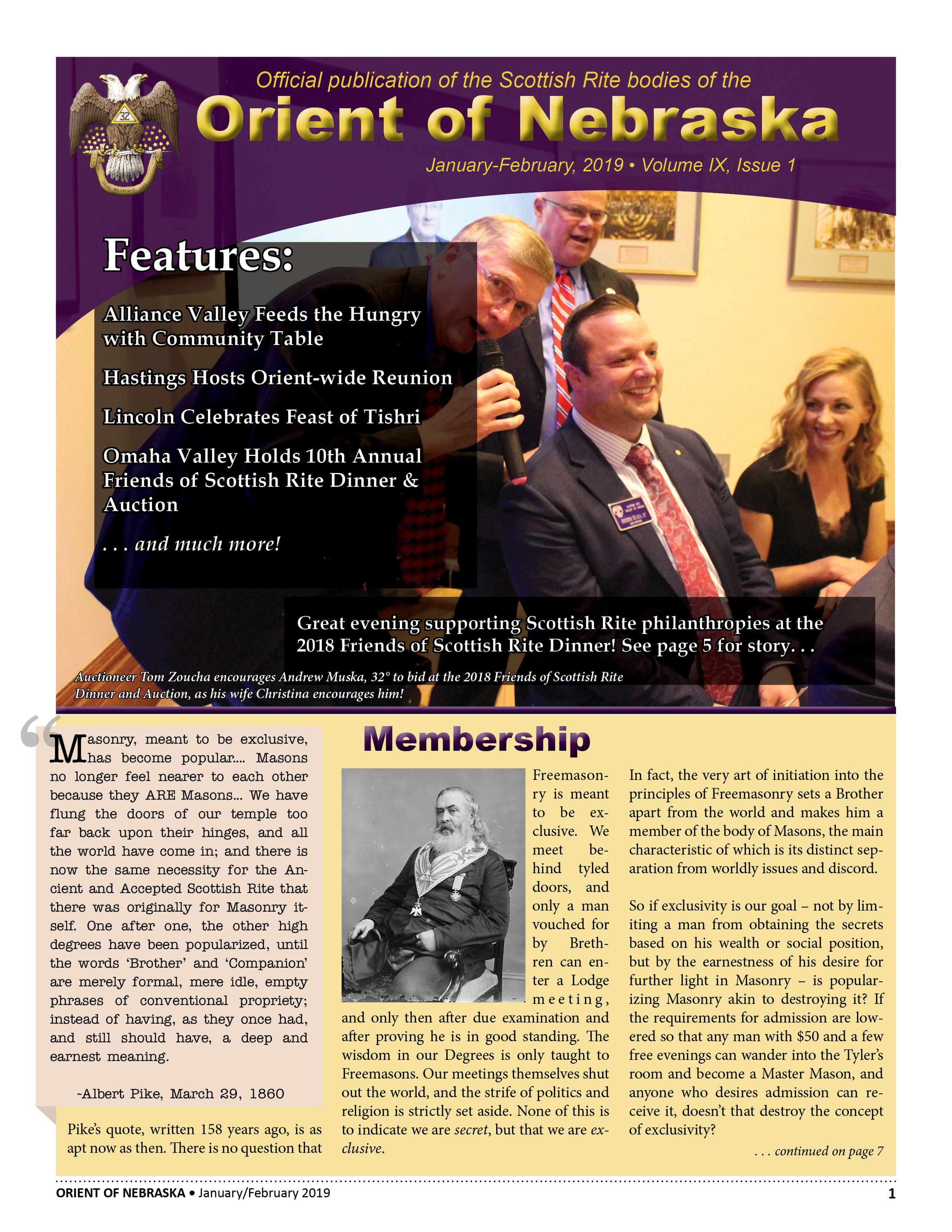 Jan-February, 2019 Volume IX, Issue 1