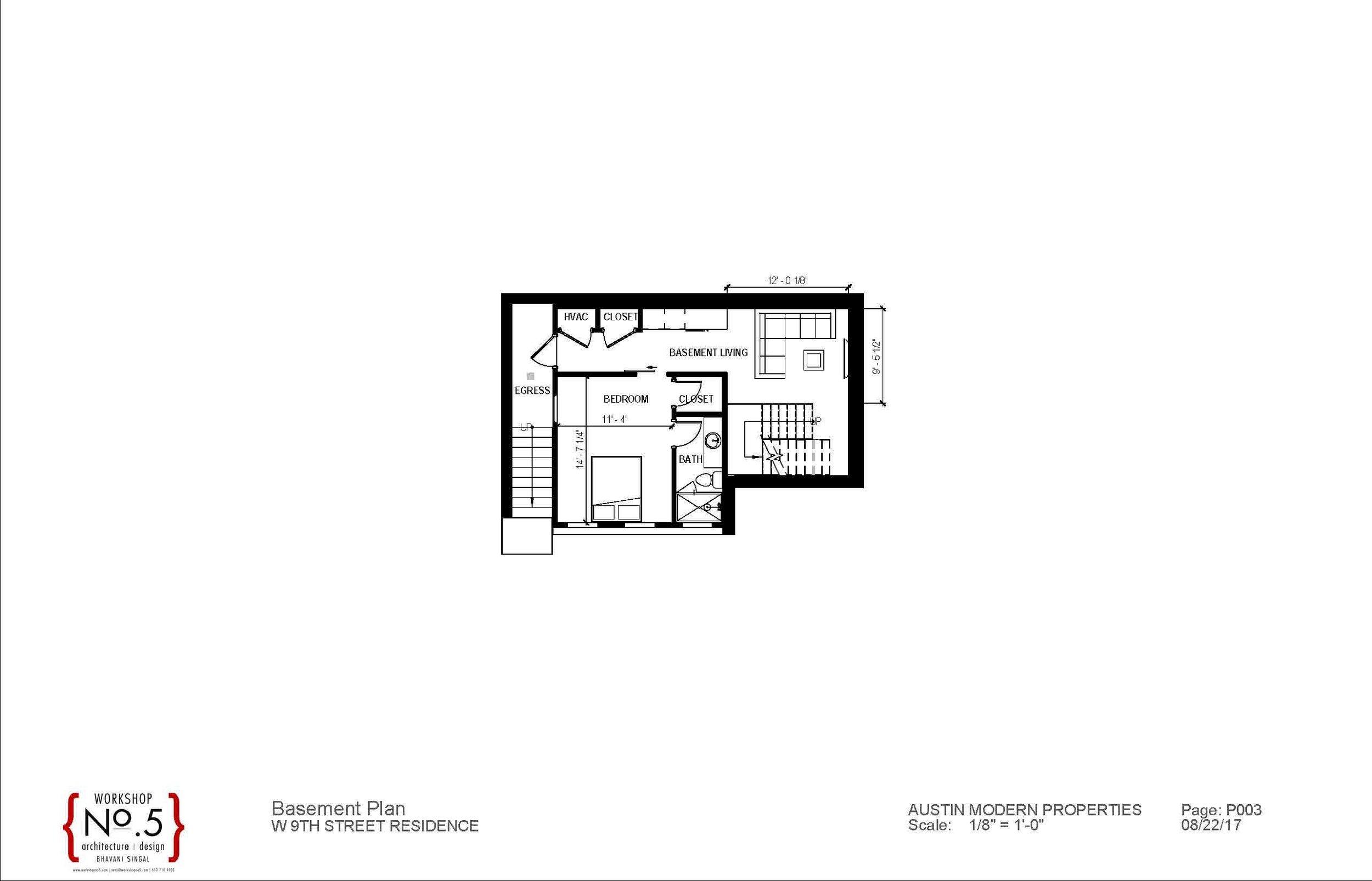 basement - 2203 W 9th