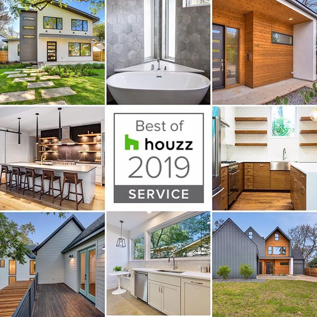 We earned the   badge w @houzz ! Come visit us on #Houzz to read our clients' review and see our photos! Link in bio. 👏🏼👏🏼✨ . . . #clientsatisfaction #clients #happy #builder #designer #design #home #newhome #homesweethome #newconstruction #realestate #forsale #dreamhome #austin #austintx #atx