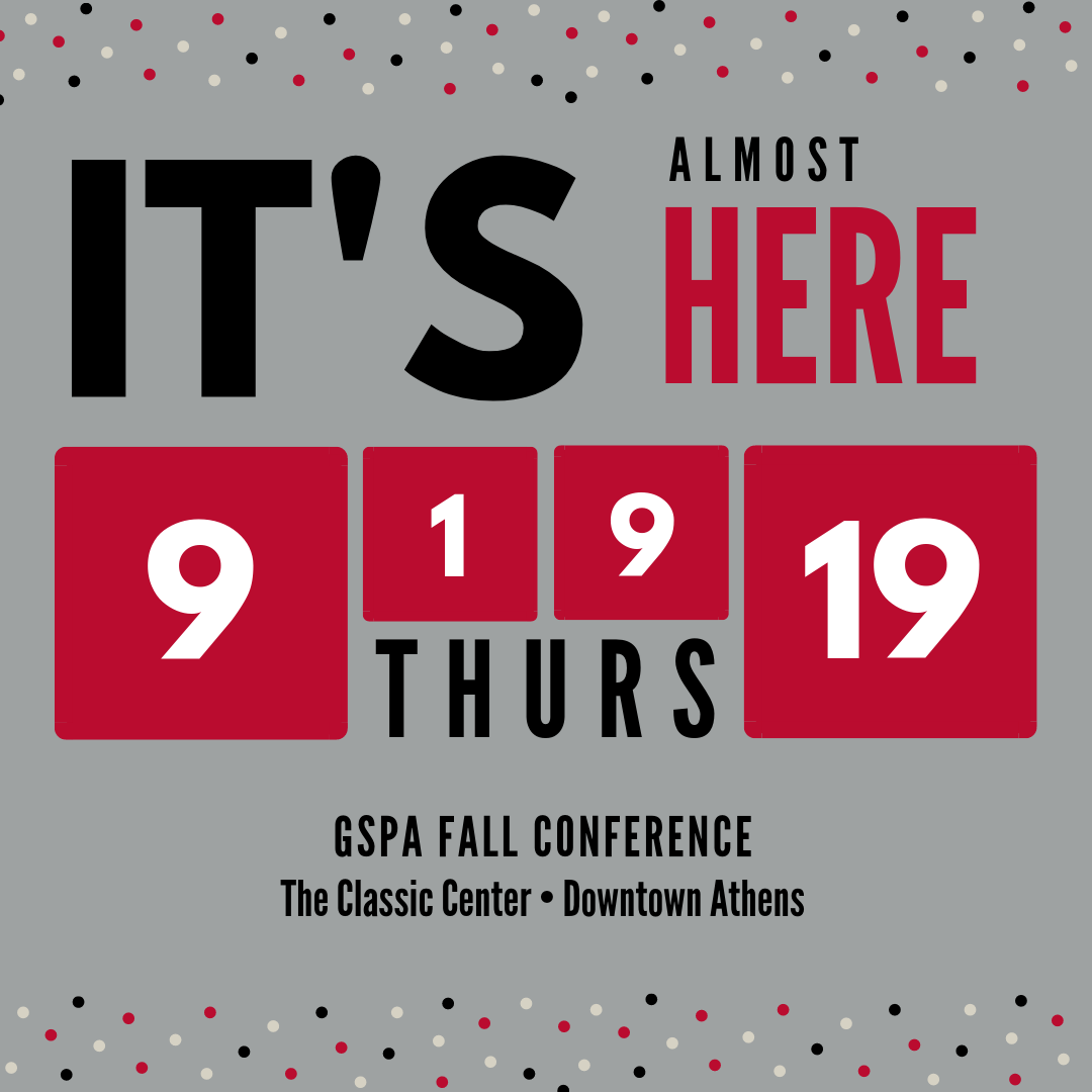 Two Week Reminder GSPA Fall Conference.png