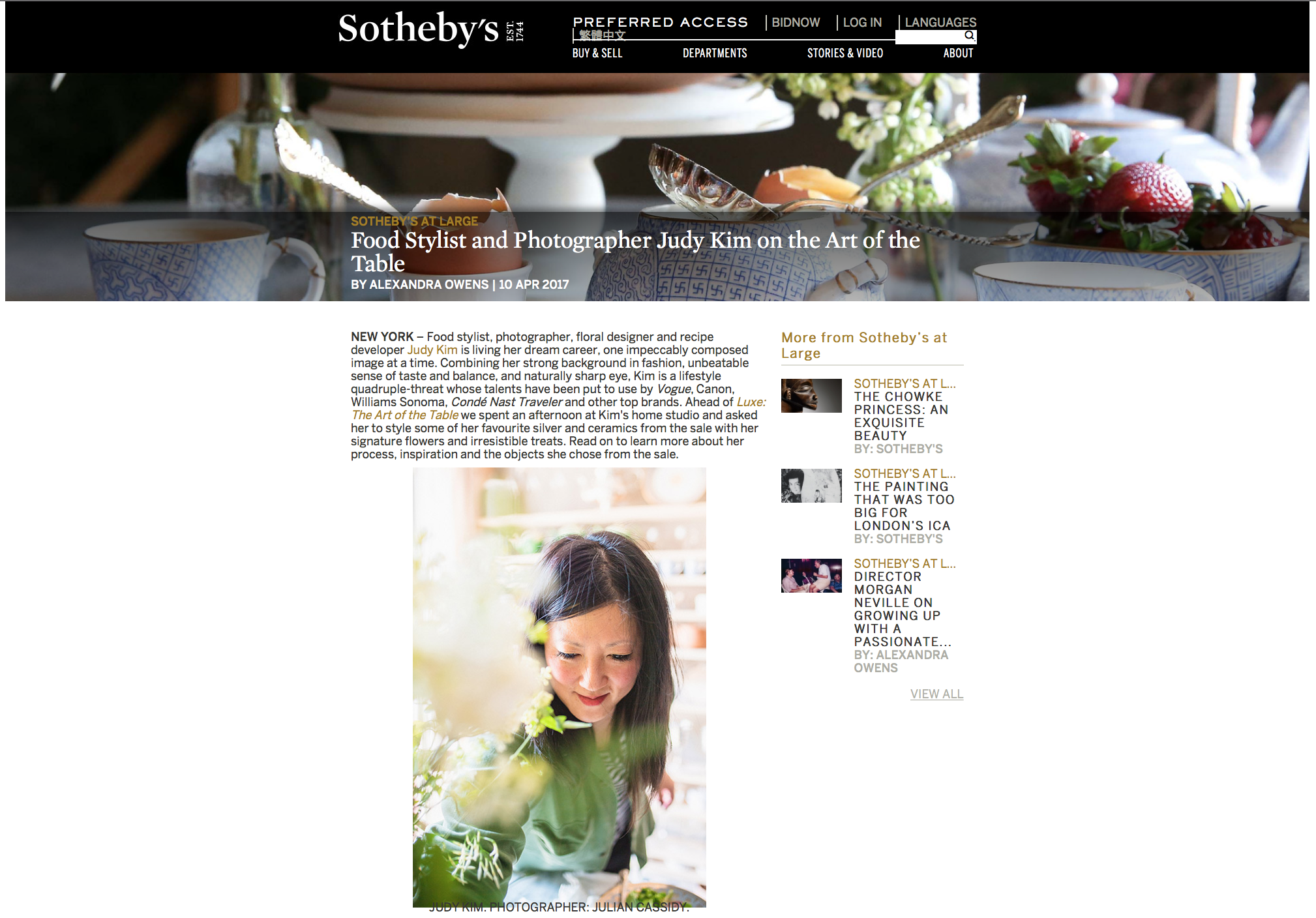 Sotheby's Judy Kim