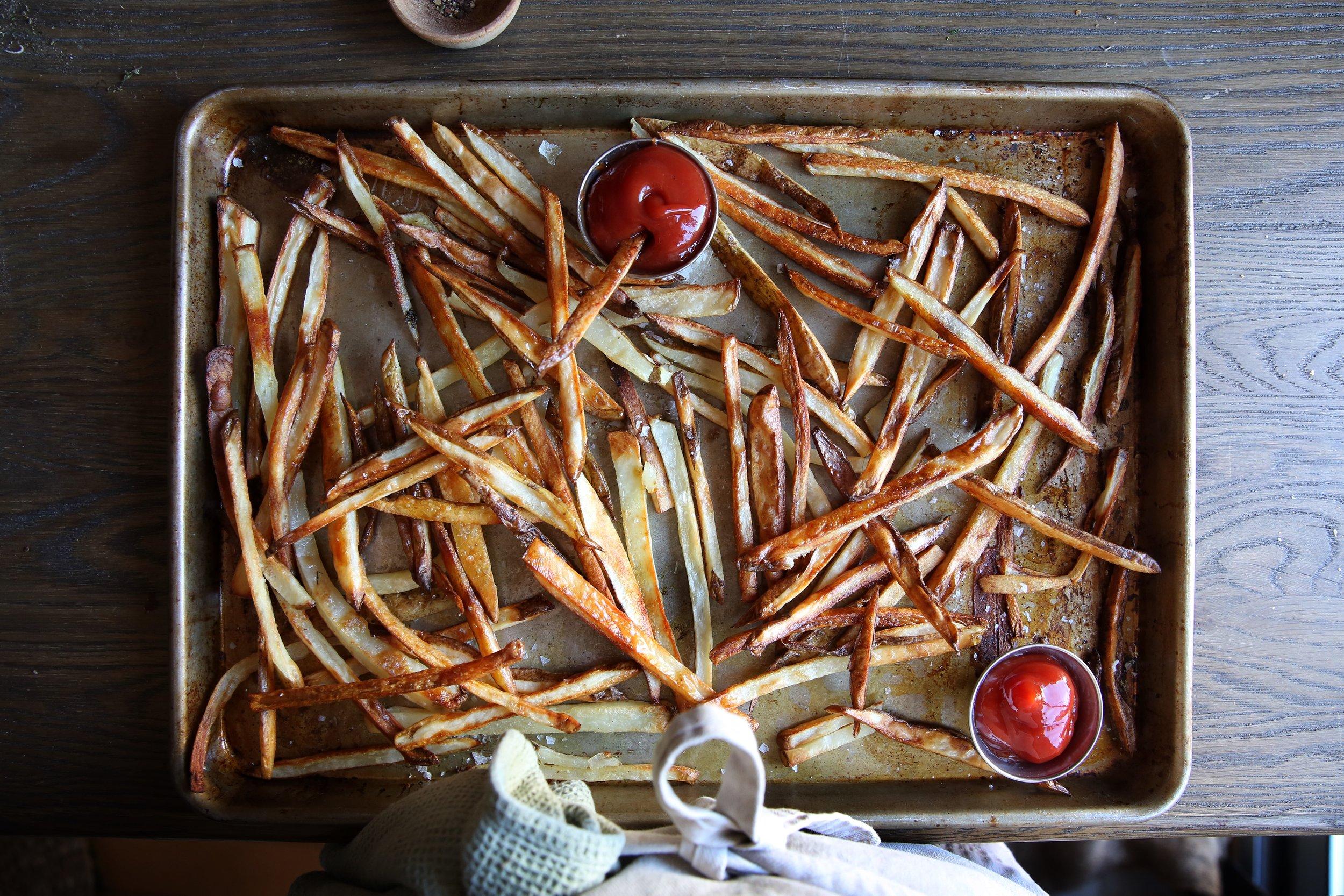 Judy Kim, Food Stylist, French Fries