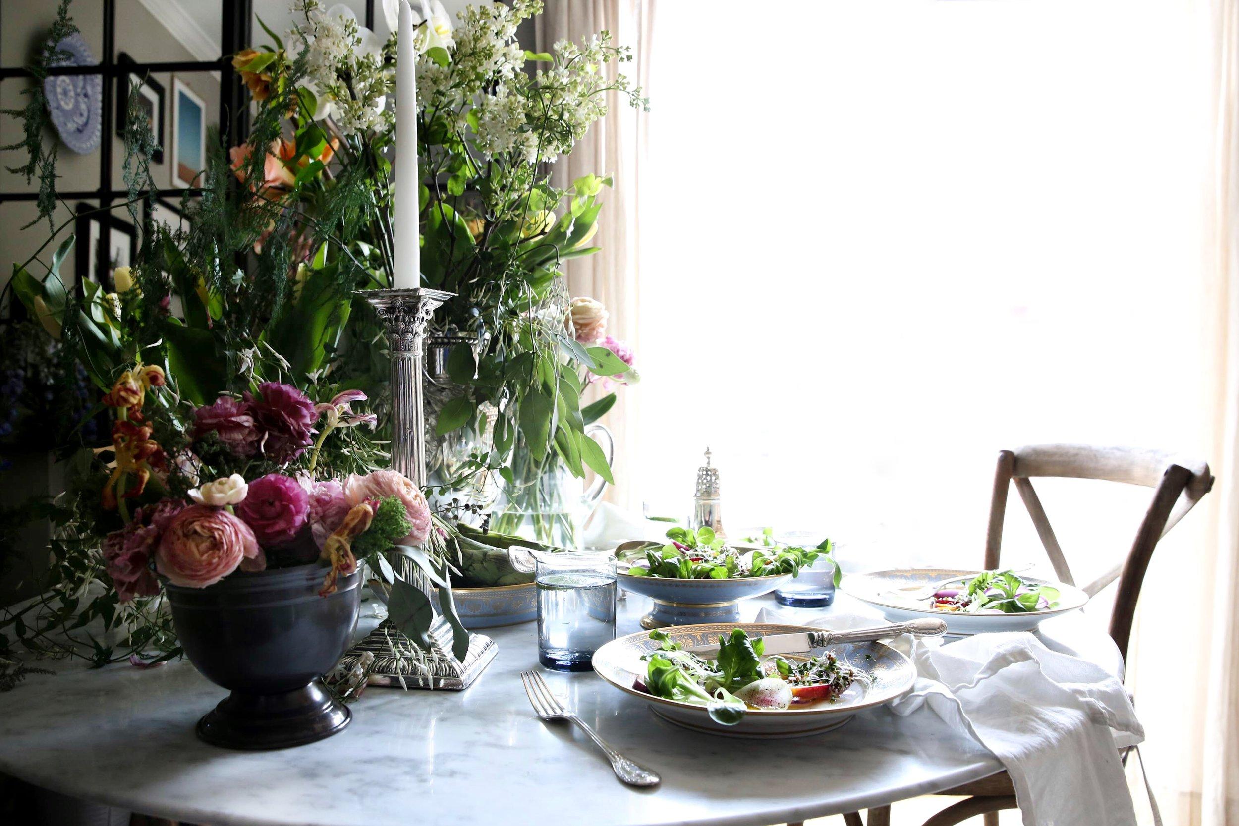 Judy Kim food stylist , floral designer