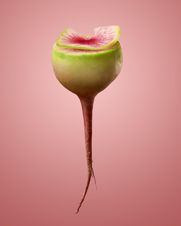 Watermelon Radish Food Stylist Judy Kim Photographer Josh Dickinson