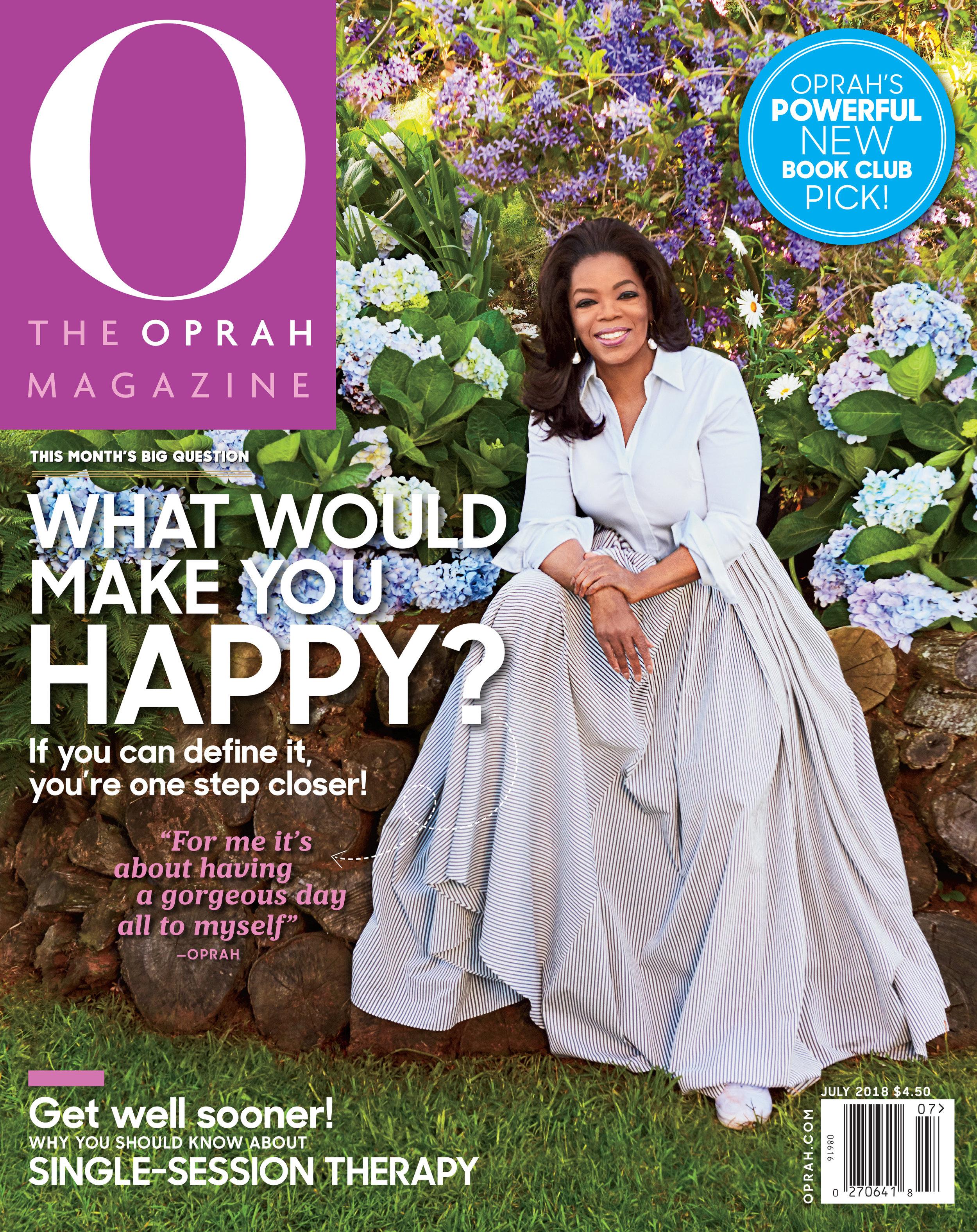 Oprah July 2018 Judy Kim