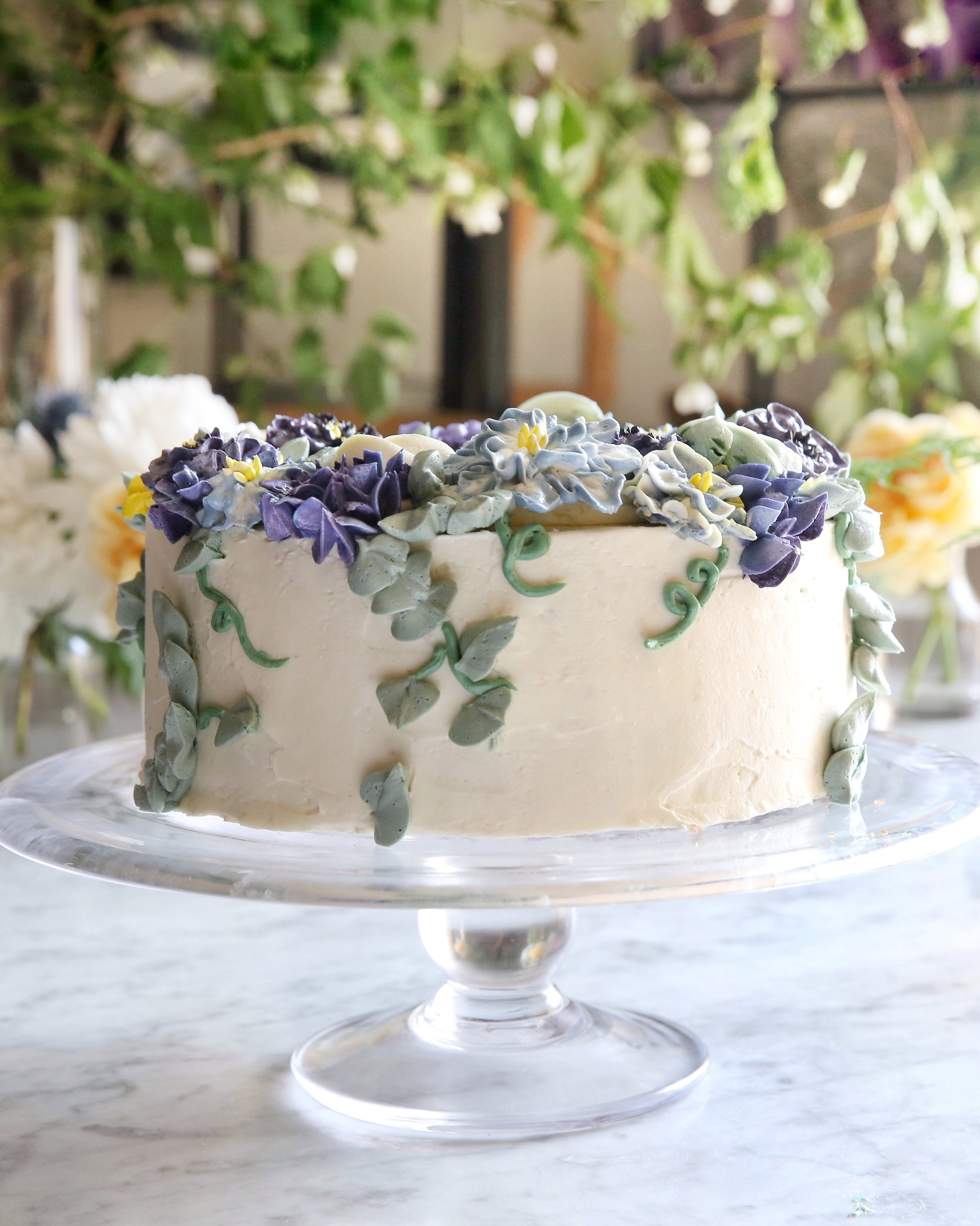 Judy Kim, Bridal Shower Cake, Cake Decorating Class, Food Stylist