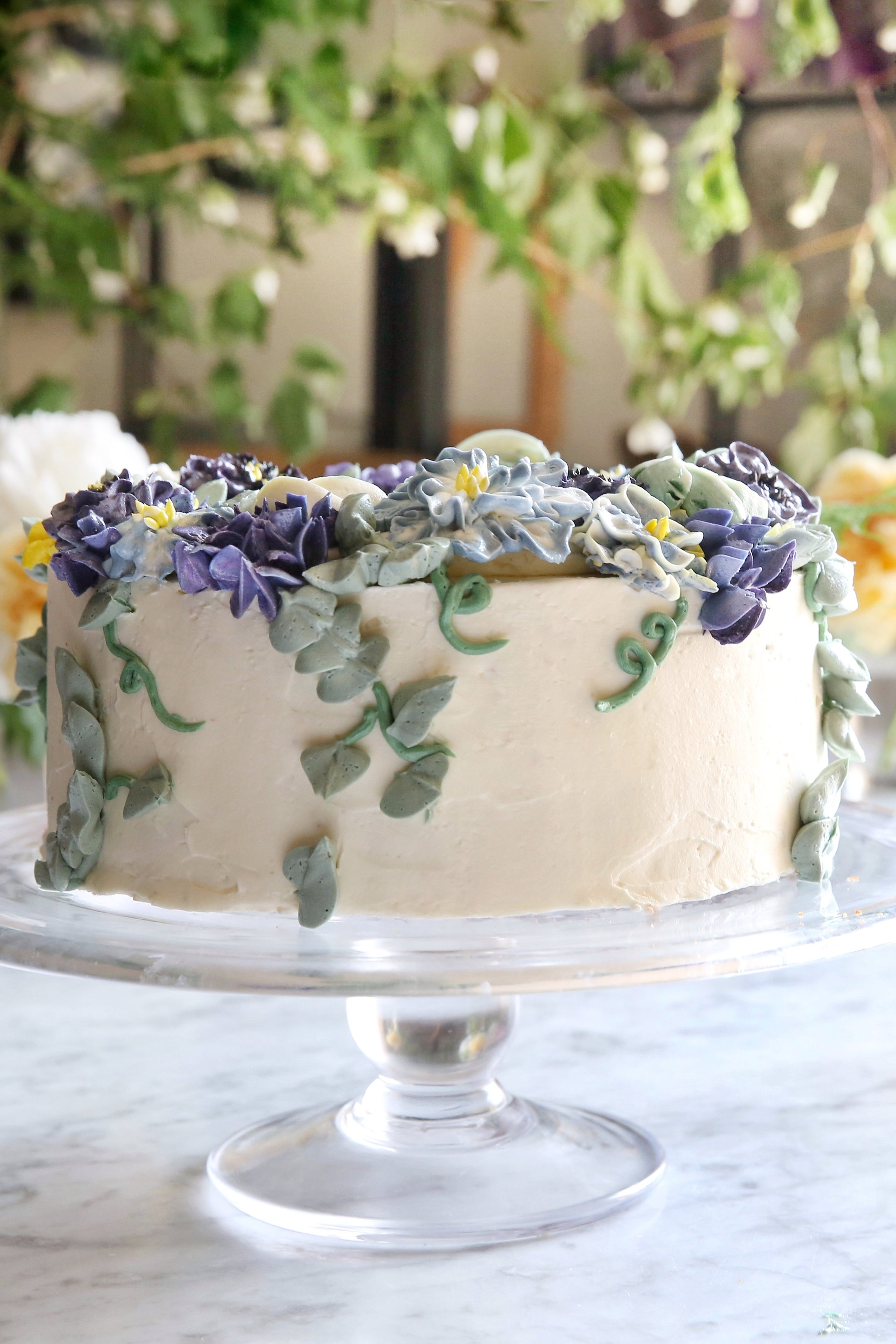 fLORAL CAKE DECORATING BASICS WORKSHOP ATTHE KITCHEN TABLE - OCTOBER 12, 2018EVENING