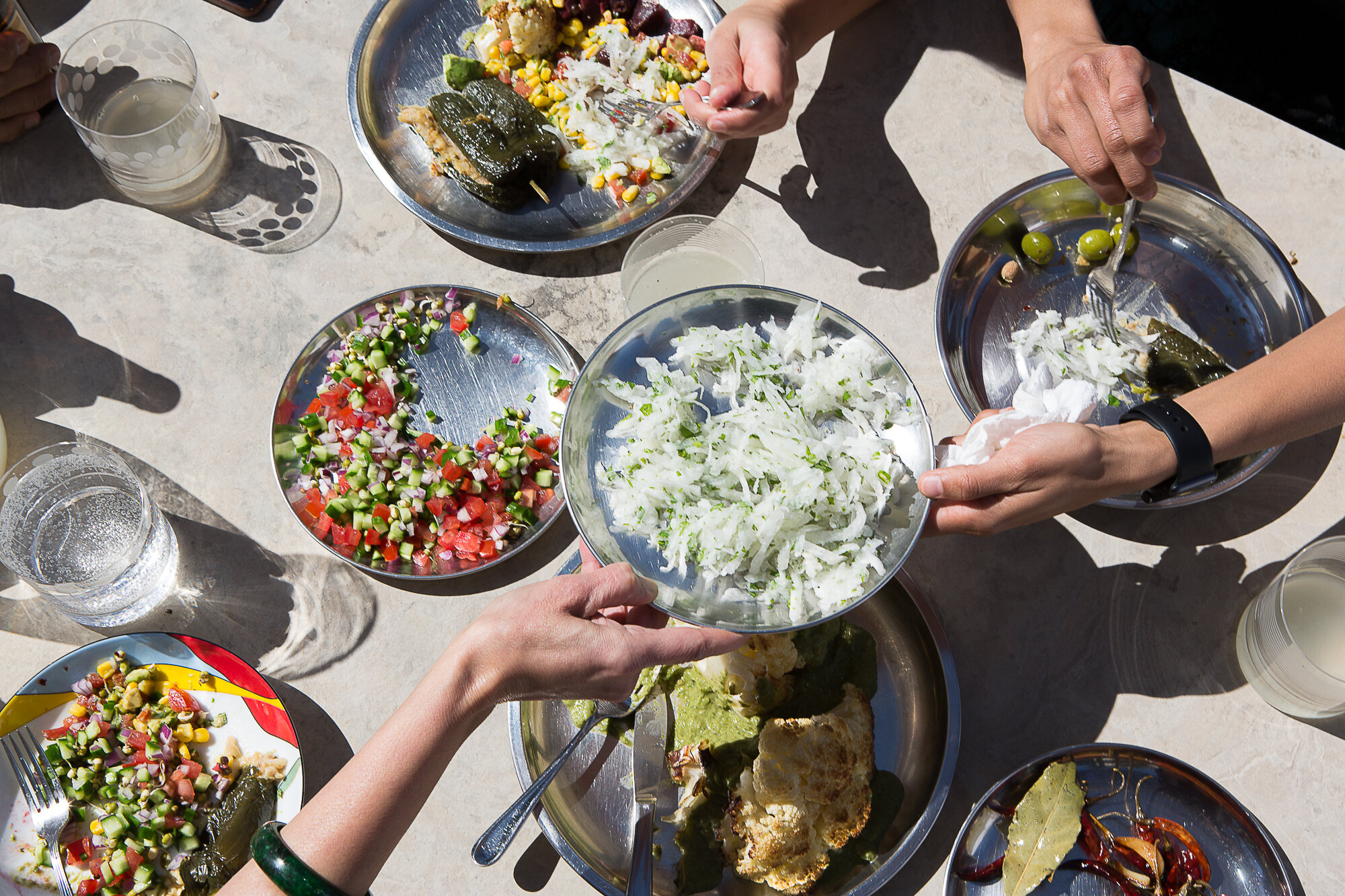 INDIANISH Cookbook , Kachumber Salads,  Author Priya Krishna, Photographer Mackenzie Smith Kelley, Food Stylist Judy Kim