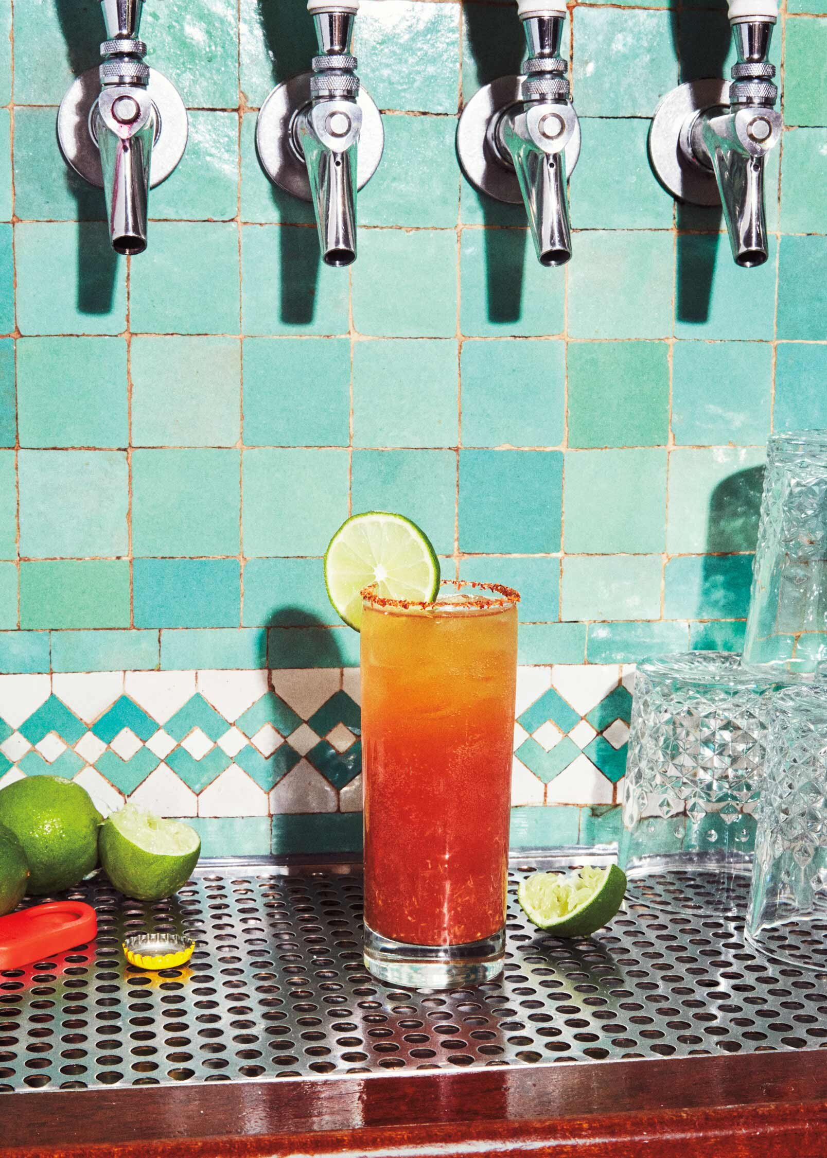 Michelada EVENS Photo Marcus Nilsson Food Styling Judy Kim