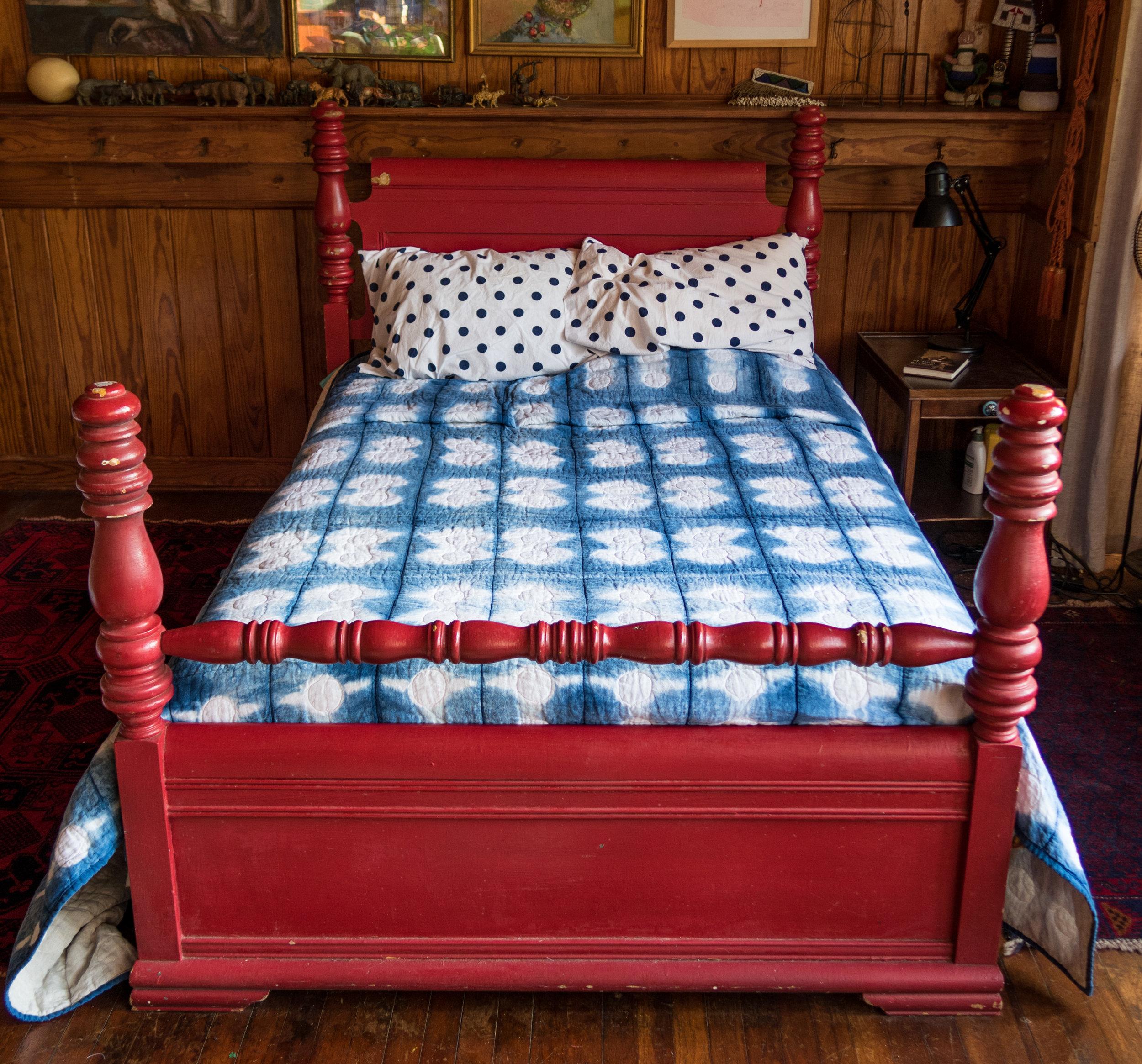 In Pairs linen quilt