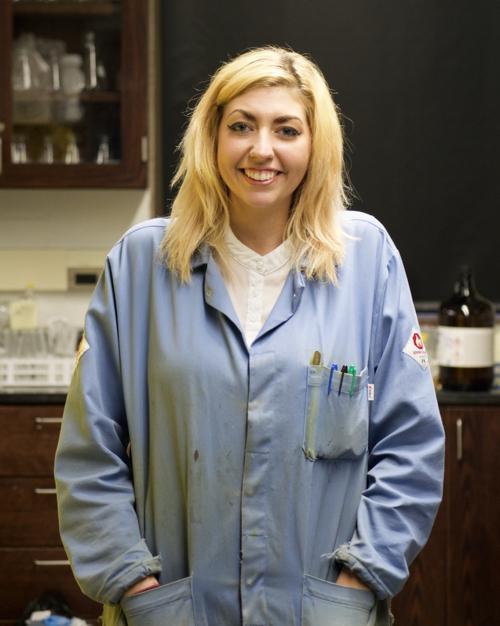 Carly Hanson   Fourth Year  B.S. Chemistry - Valparaiso University