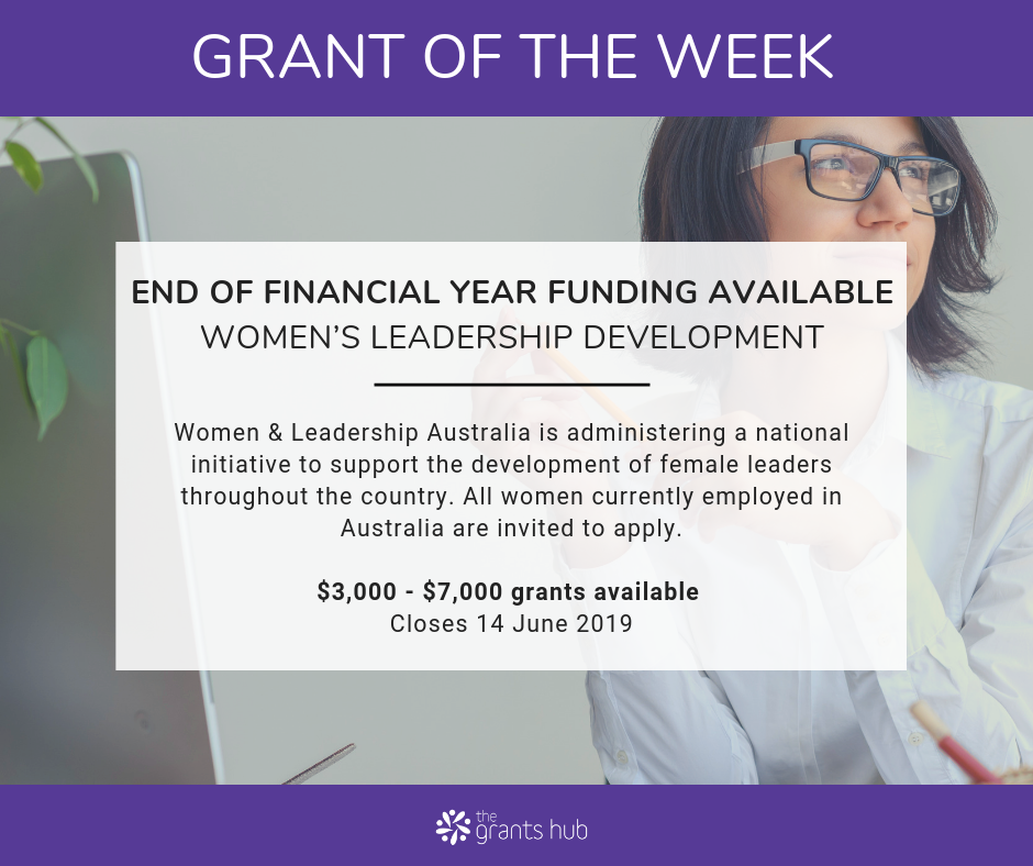 WLA Grant of the Week May 2019.png