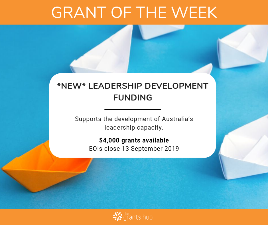 Leadership Development Grant of the Week Aug 2019.png