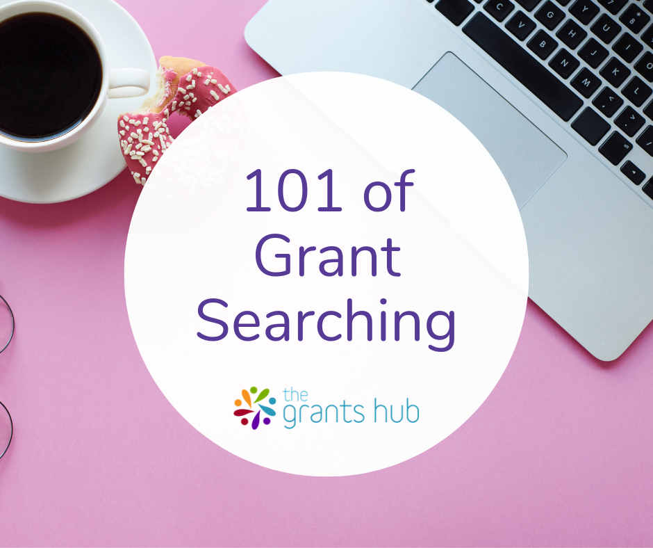 The 101 of grant searching for small organisations.  Read more