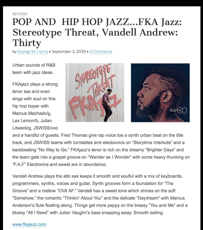 FKAjazz www.jazzweekly.com