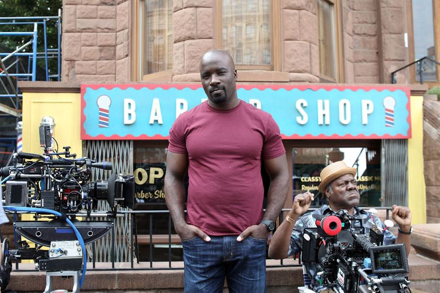 MIke Colter as 'Luke Cage'.