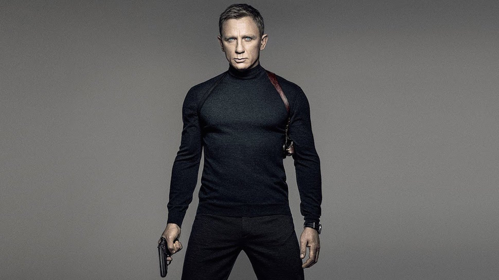 Daniel Craig returns in his fourth outing as 007 in  Spectre .