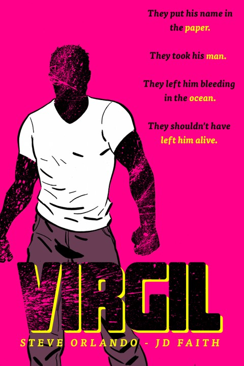 Promo art for the Image Comics graphic novel,  Virgil .