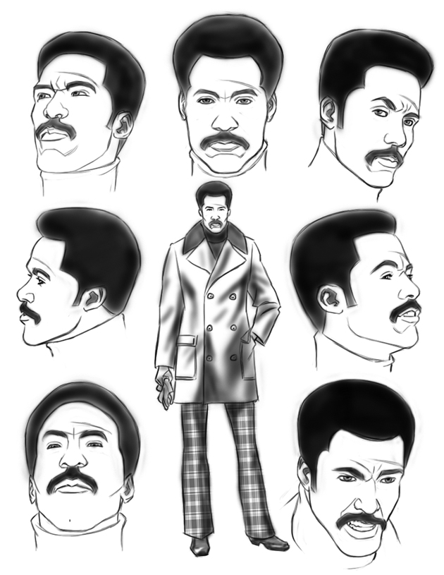 Dietrich Smith's take on  John Shaft .