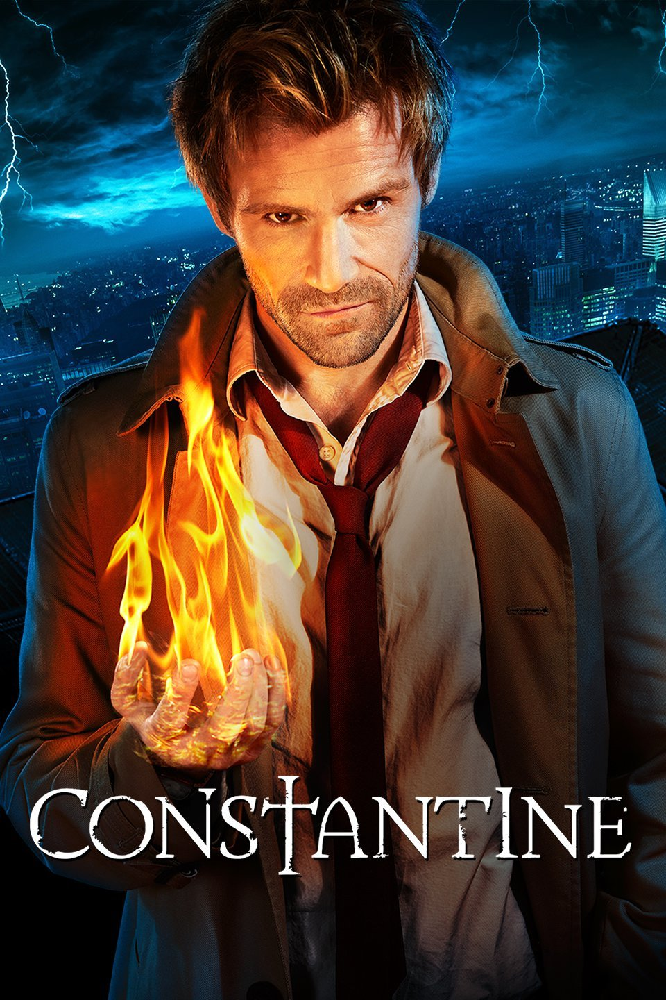 Matt Ryan as  Constantine .